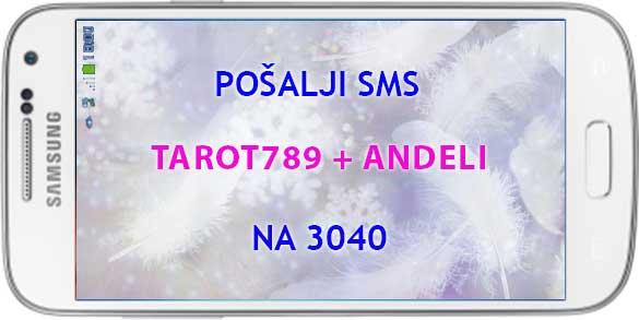 ANĐELI, ANĐEOSKE KARTE, SRBIJA SMS